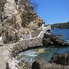 The Stone Bay Front Walkway Connecting Playa Panteon With Playa Principal