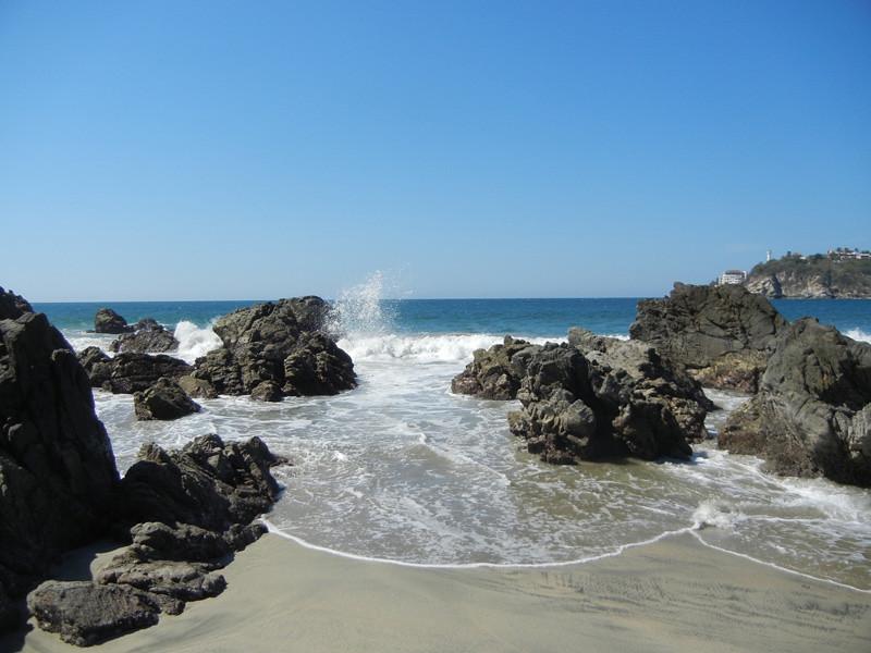 The Pounding Surf Of Puerto Escondido, Oaxaca