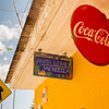 Typical Coca Cola Sign