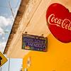 Typical Coca Cola Sign