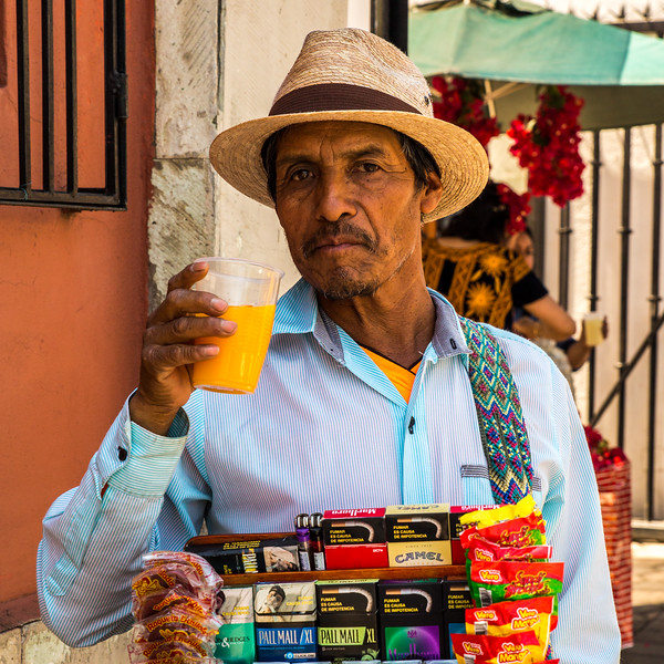 Here's to the Street Vendor