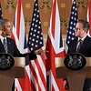 Two Statesmen American President Baraka Obama  and British Prime Minister David Cameron