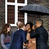 The Obamas and the Royals hit it off well !