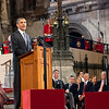 President Barack Obama gives a speech to members of both Houses of Parliament at Westminster Hall in London, England, May 25, 2011. (Official White House Photo by Pete Souza)