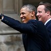 President Baraka Obama  and Prime Minister David Cameron