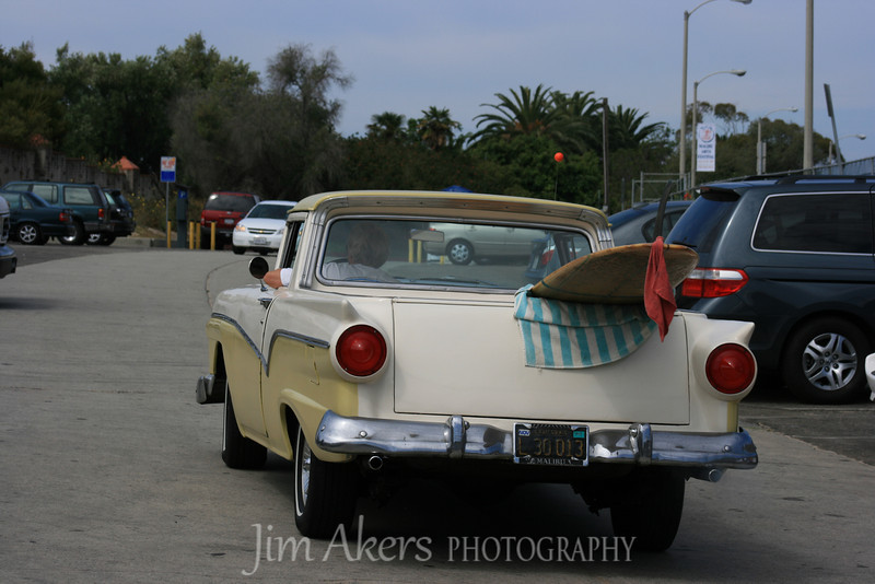 This shot was taken at Surfers Beach in Malibu, CA