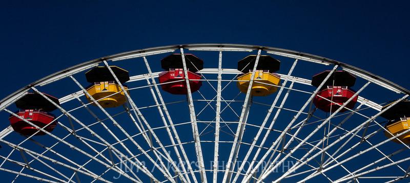 Santa Monica Pier Ferris Wheel, Santa Monica, CA