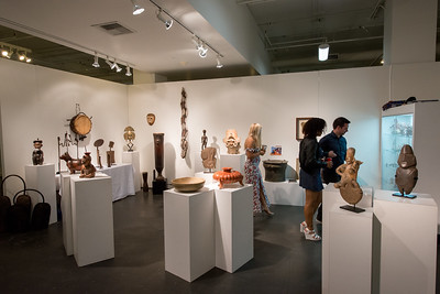 Leonard Kalina Booth at Objects of Art LA
