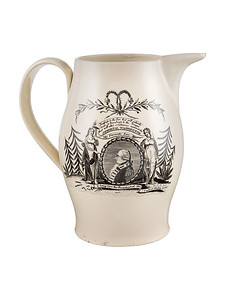 Pitcher celebrating George Washington from Legacy Americana