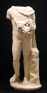 Roman Marble Figure of Bacchus from Art For Eternity