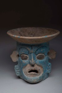 Incensario, Maya