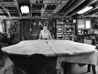 George Nakashima in Studio
