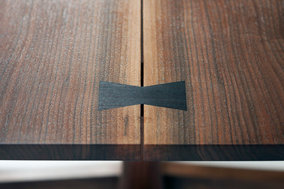 Conoid Dining Table (Detail of top)