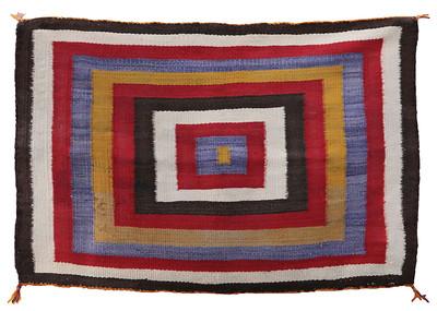 Navajo Single Saddle Blanket