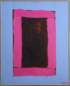 Jorge Fick (1932-2004) - A Glimpse of Abiquiu