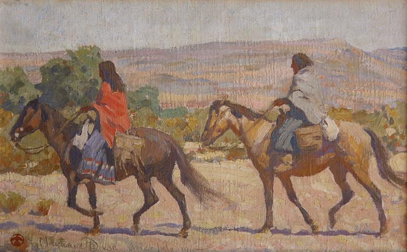 Apache Women, Rice, Arizona