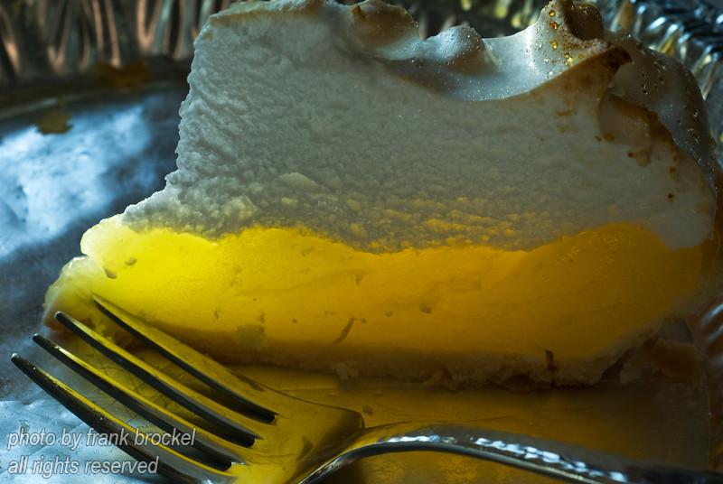 Lemon Meringue Pie ready to eat