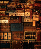 Wall of Suitcases, Little Tokyo, L A  - 2016