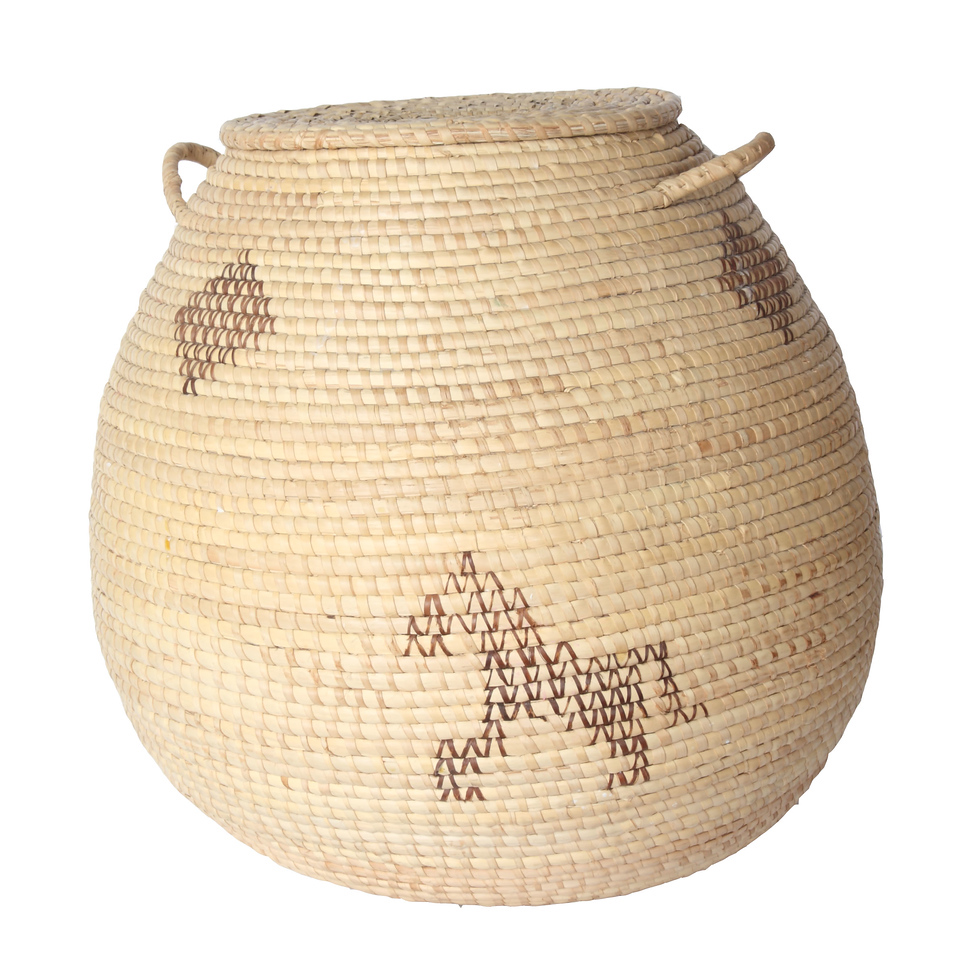 Traditional African basket