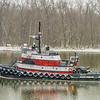 Tugboat Along the James