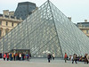 The Pyramide at the Louvre in Paris