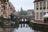 A Lock on the Ille River in Strassbourg