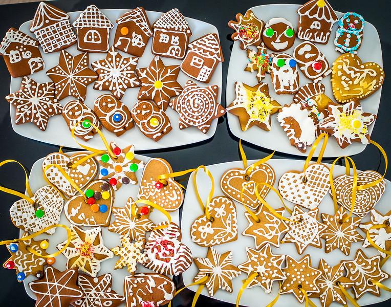 More home-made christmas cookies