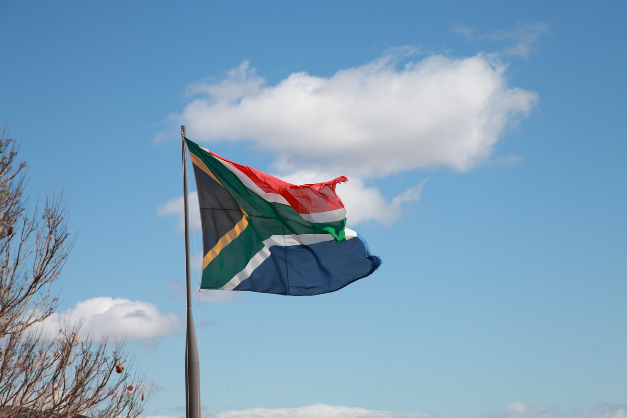 South African flag