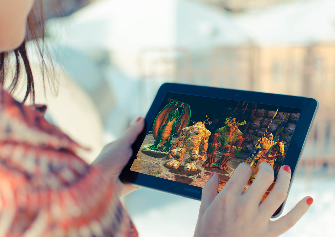 King's Bounty: Legions on Android Tablet