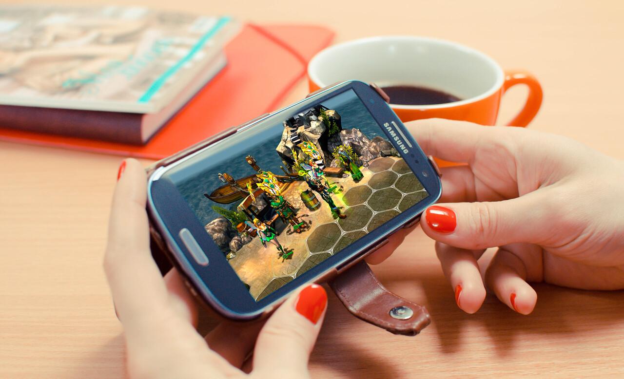 King's Bounty: Legions on Samsung Galaxy SIII