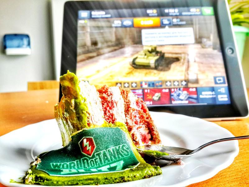 World of Tanks: Blitz cake