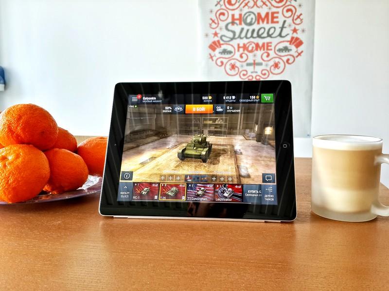 World of Tanks: Blitz on iPad