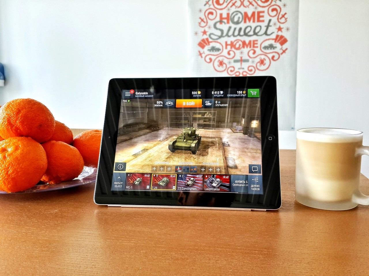 World of Tanks: Blitz on iPad