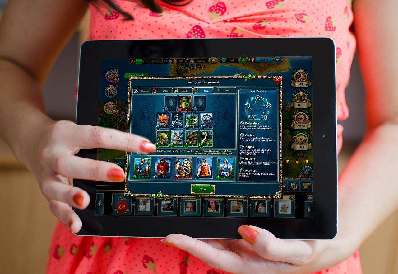 King's Bounty: Legions on iPad