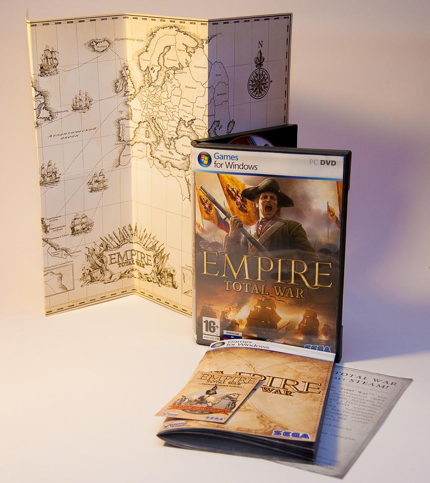 Empire: Total War box for Ukraine