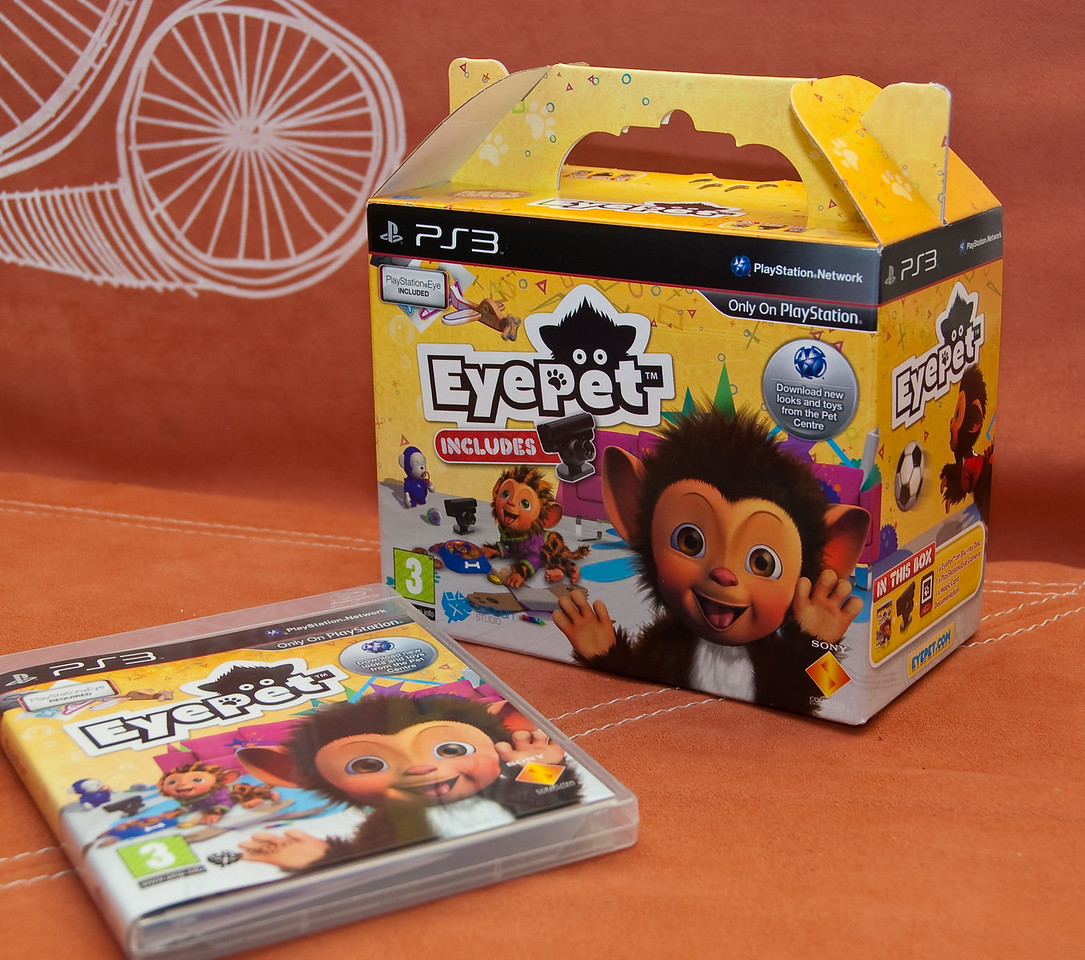 EyePet with Playstation Eye