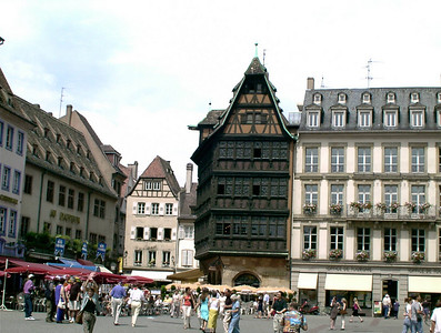 Half Timbered Houses in Europe