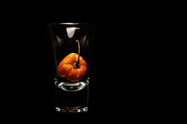 peppered shot