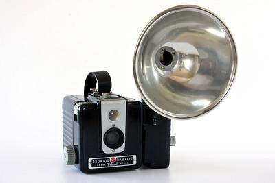 Kodak Brownie Hawkeye with flash