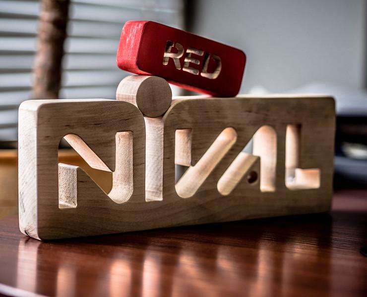 Nival Red logo