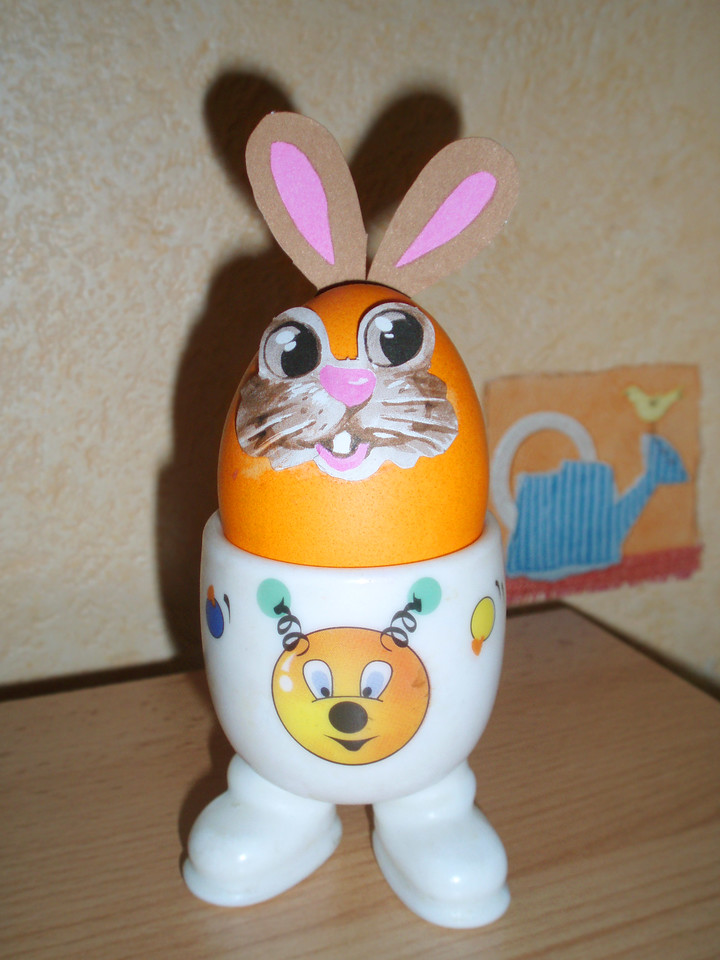 Easter egg-bunny
