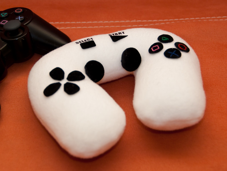 Pillow PS3 gamepad