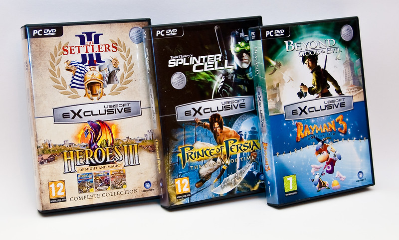 Ubisoft Exclusive games