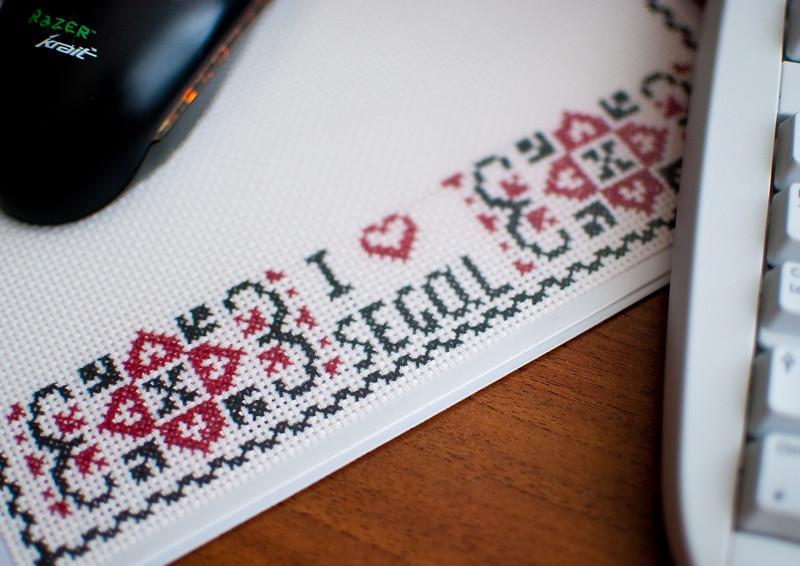 Valentine's Day mousepad