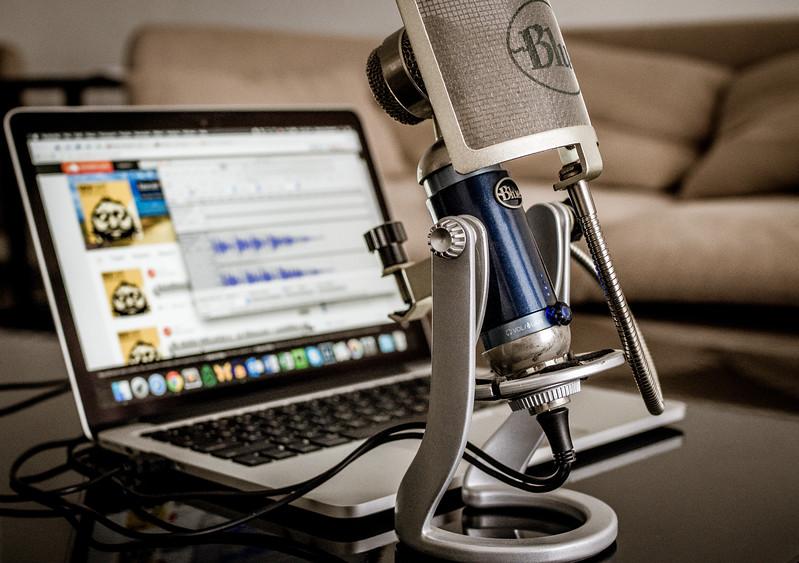 My podcast setup