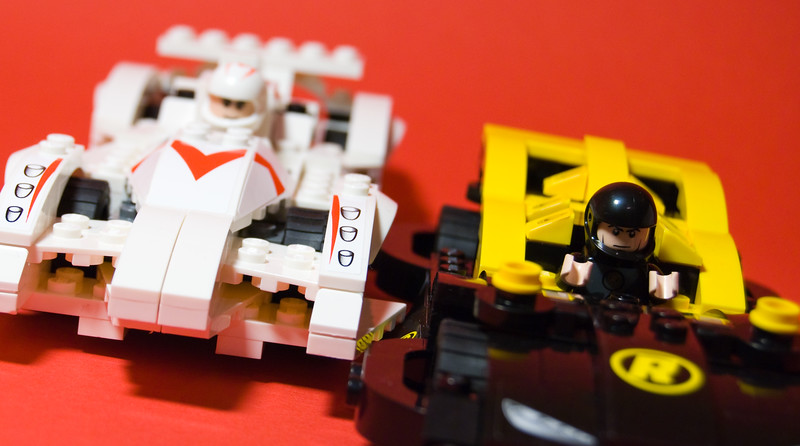 Lego Speed Racer Cars (warm version)