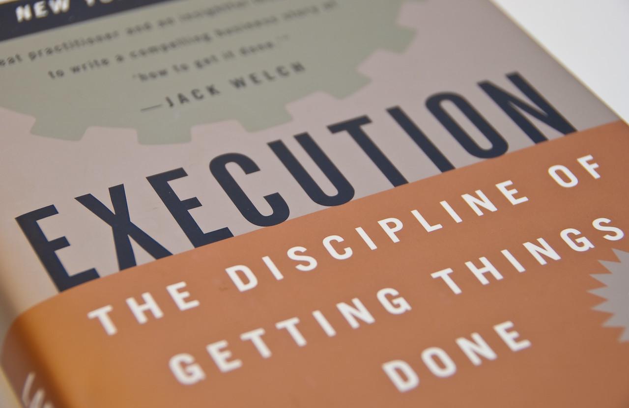 Execution book