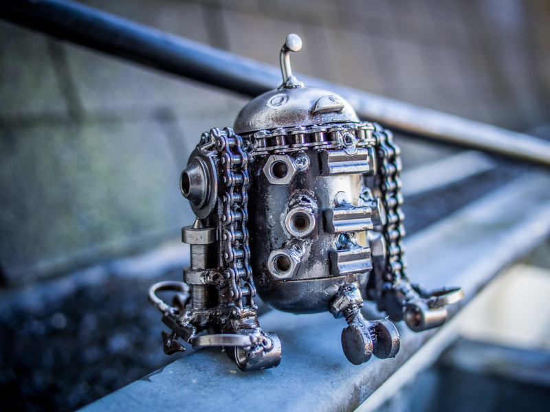 R2D2 in Steampunk