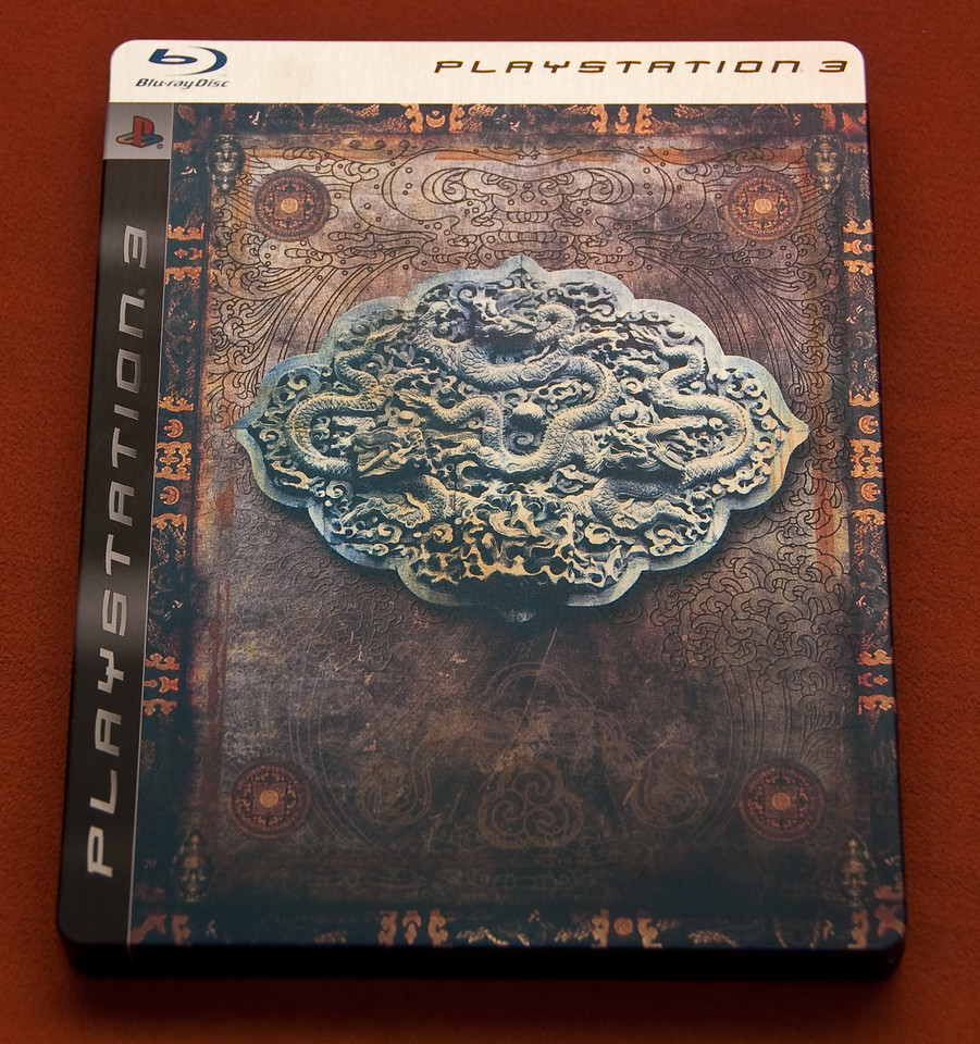 Uncharted 2: Among Thieves in steel box