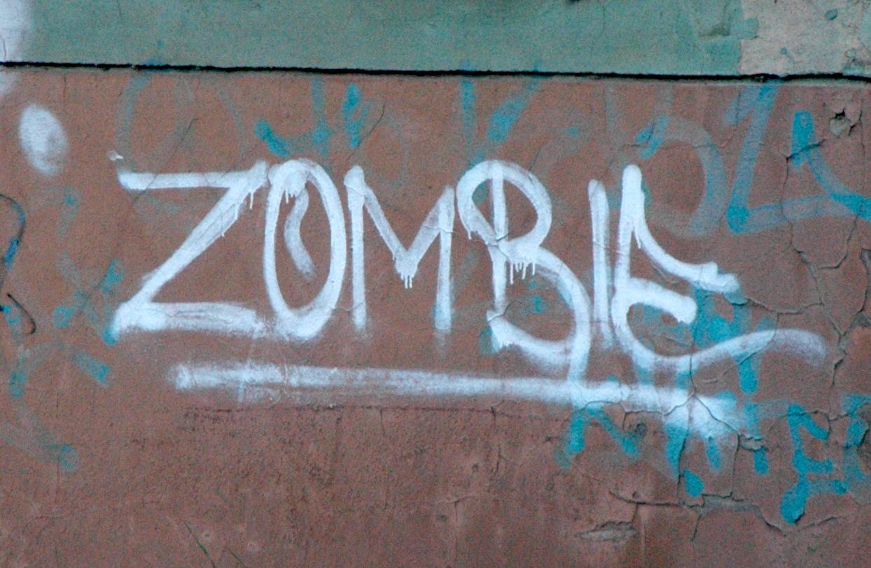Zombie graffity